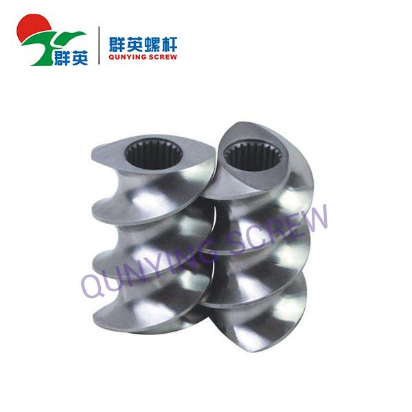 Segmento de barril de tornillo de plástico / Segmento de tornillo / Segmento de tornillo gemelo paralelo de extrusor