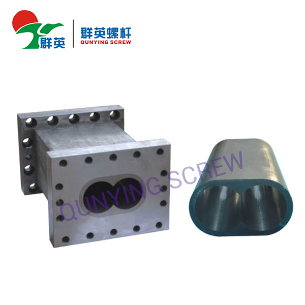 Barril del segmento del extrusor del tornillo gemelo Barril seccional