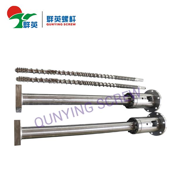 Filamento extrusor Micro Tornillo de barril para la máquina de extrusión