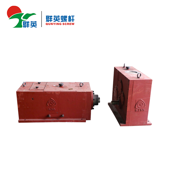Caja de engranajes cónica del reductor de la velocidad del extrusor gemelo plástico de SZ65 Serise